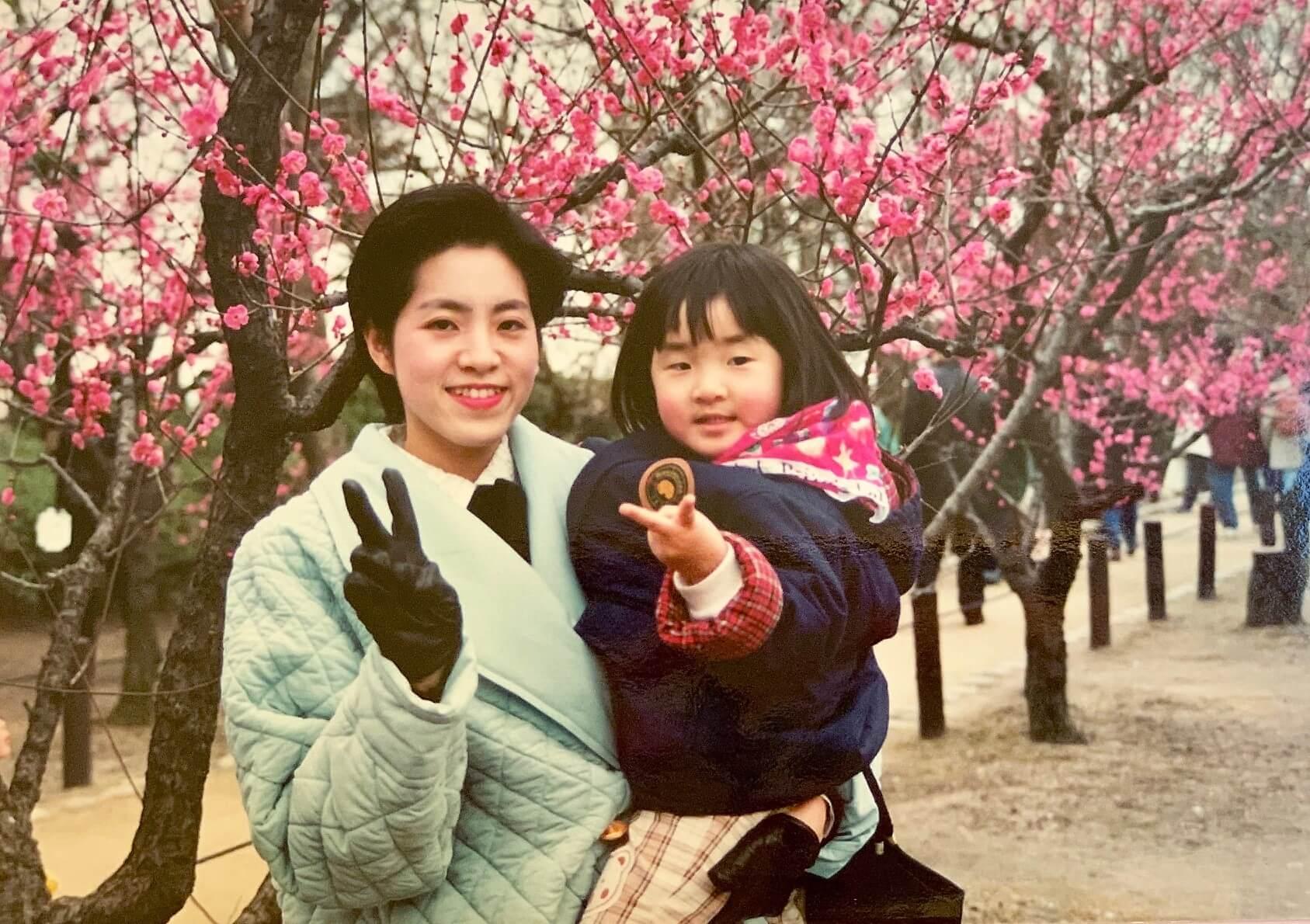 25年前の吉田親子の写真